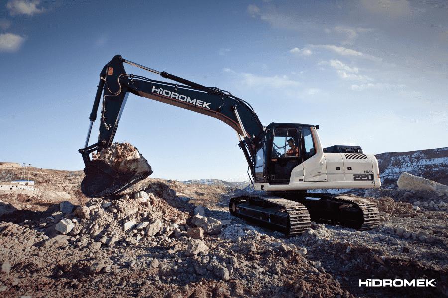Hidromek представила новый экскаватор серии H4