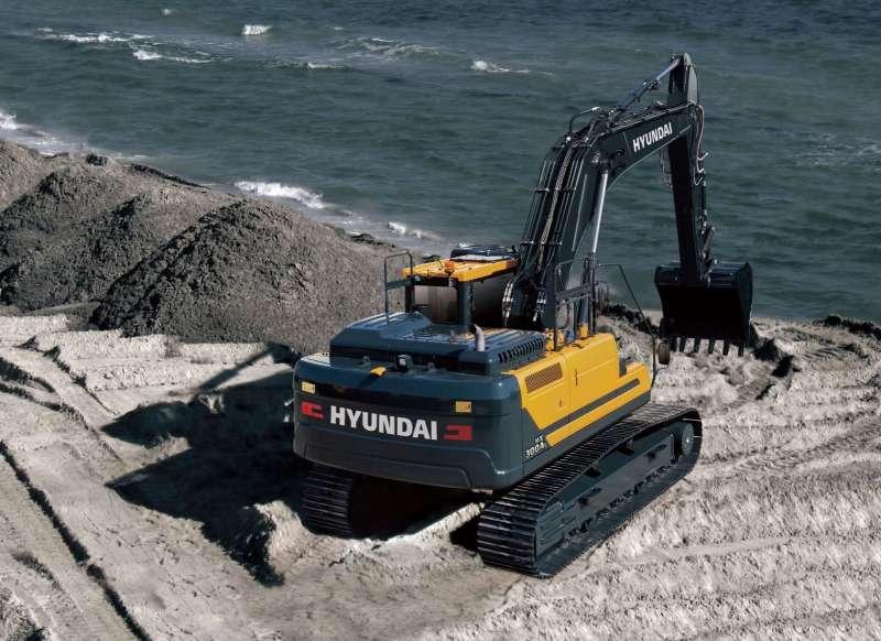 Hyundai представила новый экскаватор HX300AL