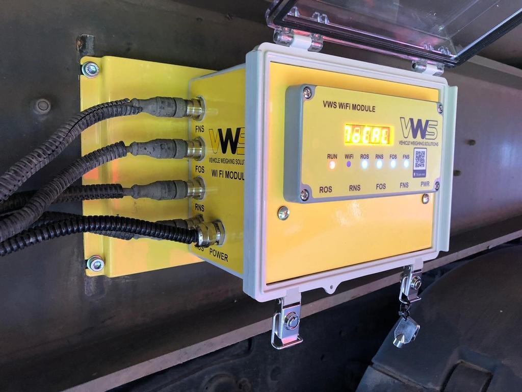 Компания VWS анонсировала новую систему взвешивания и контроля осевых нагрузок с функцией WiFi