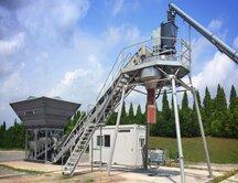 Компания Liebherr предлагает бюджетный вариант бетоносмесительной установки