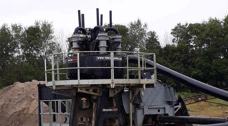 Terex Washing Systems представила установку для извлечения тонкодисперсных фракций