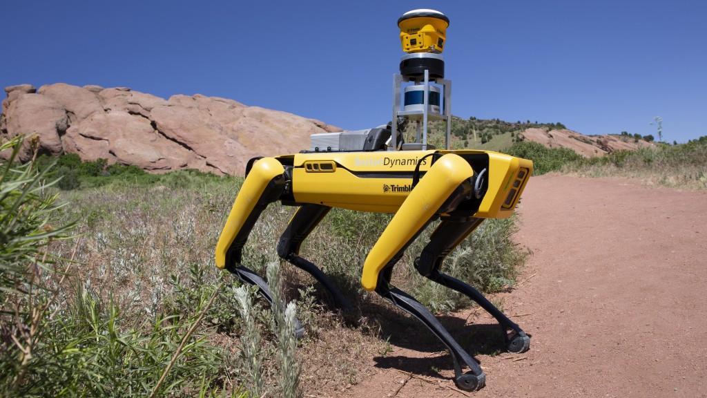 Trimble и Boston Dynamics учат робособак работать на стройплощадках