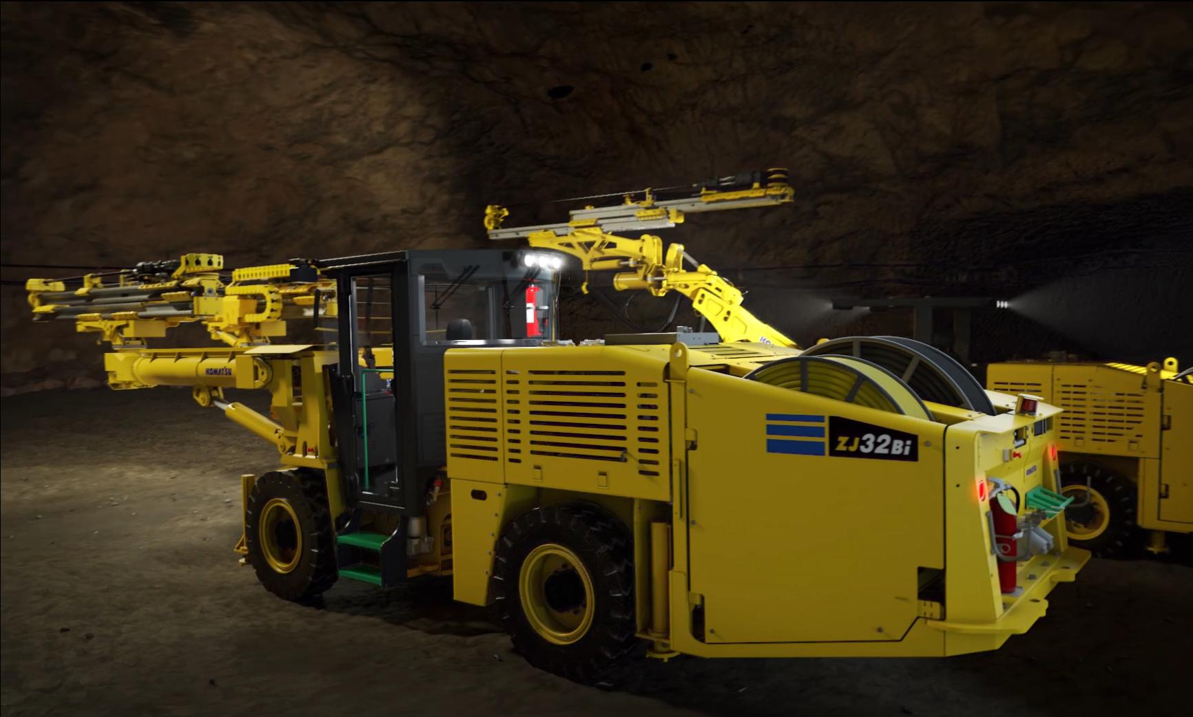 Komatsu Mining представила нову бурову установку