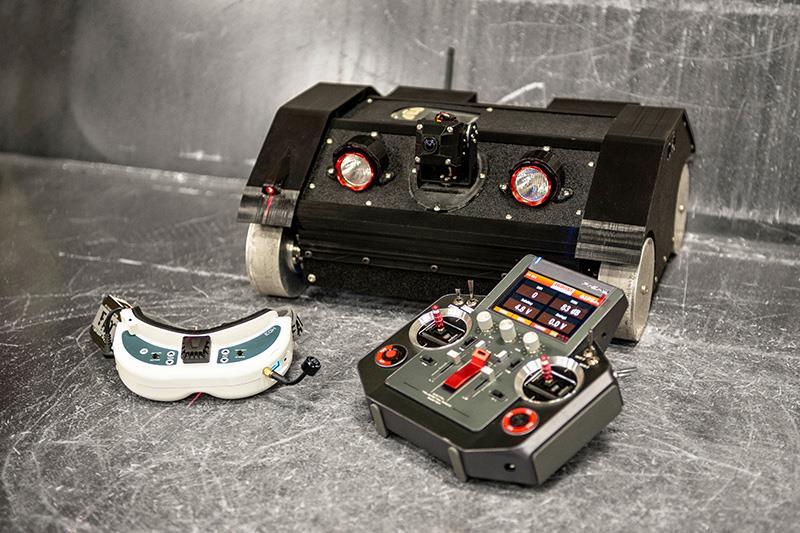 Astec разработал робота Silobot, который способен быстро и безопасно проверять силосные корпуса на АБЗ