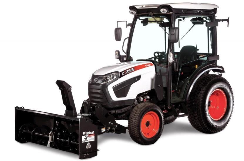 Bobcat розробила роторний снігоочисник для своєї нової лінійки тракторів