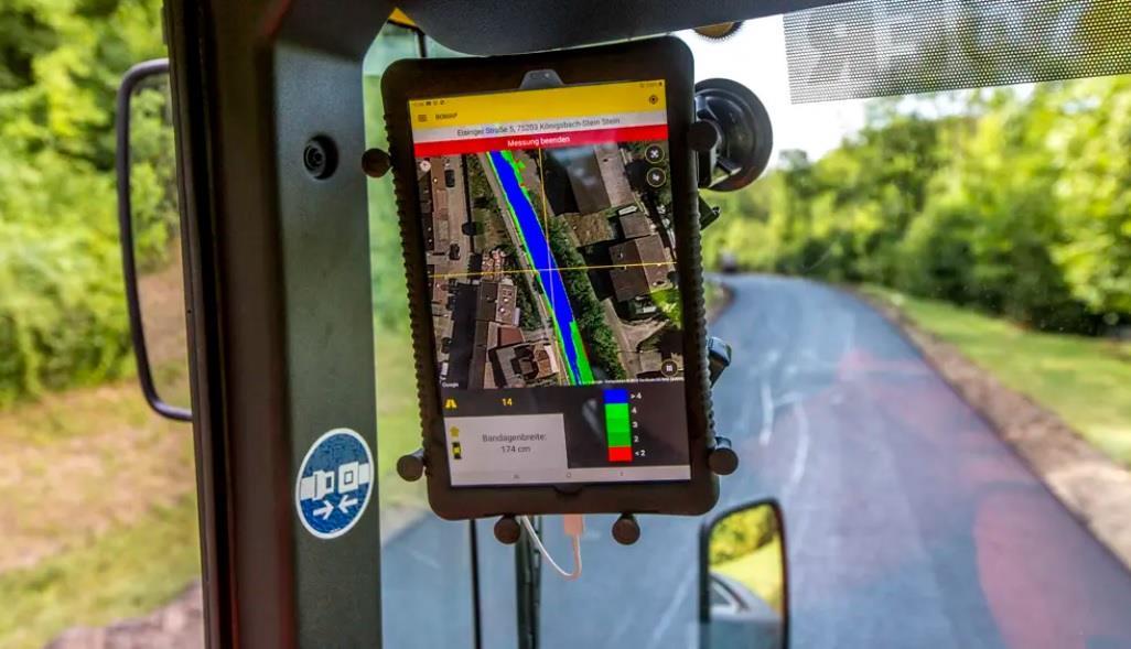 Новое приложение от BOMAG для контроля уплотнения покрытия