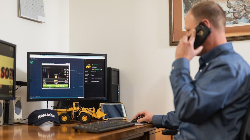 Komatsu анонсувала нову цифрову платформу, що забезпечує віддалену підтримку операторів