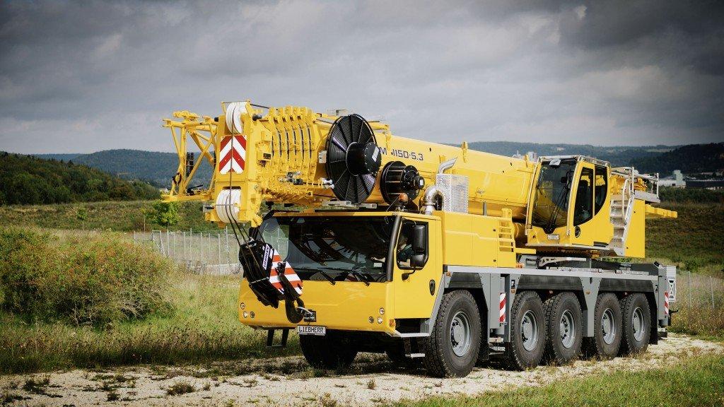 Liebherr анонсировала новый 150-тонный автокран с 66-метровой телескопической стрелой