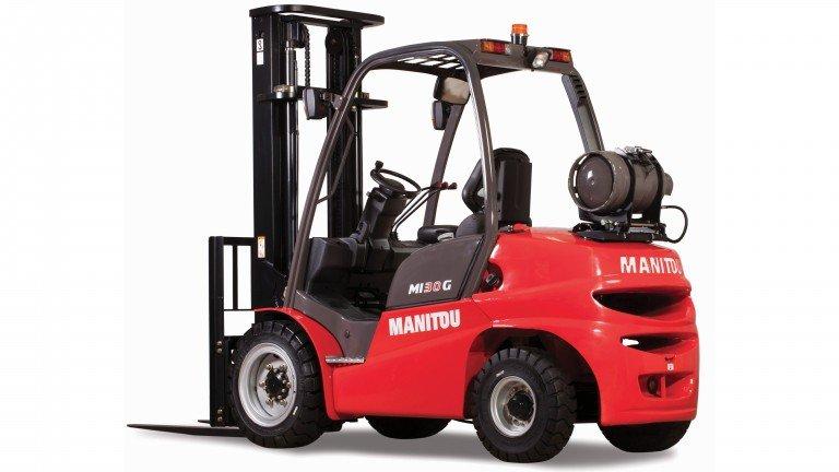 Погрузчики Manitou смогут работать на двух видах топлива