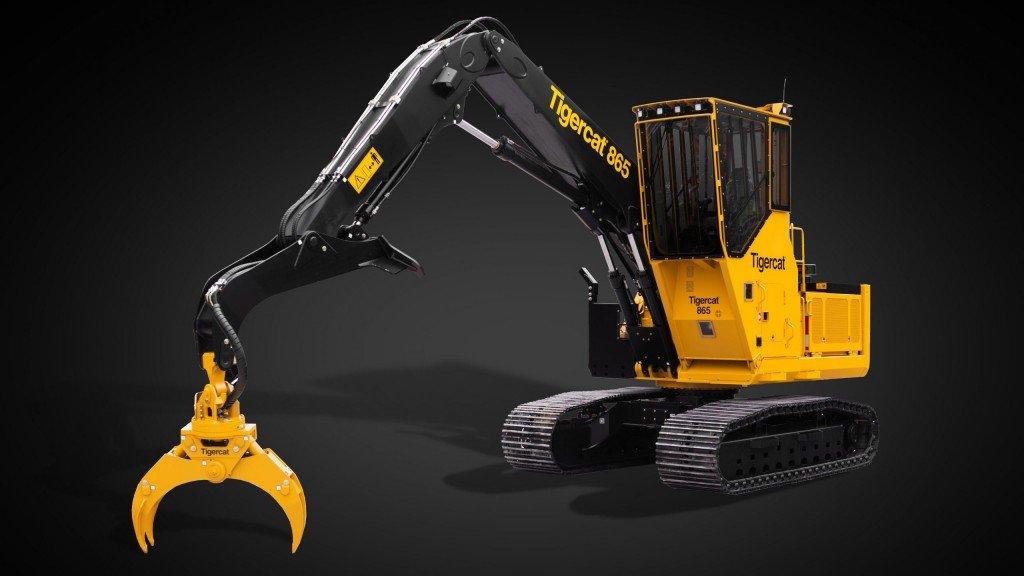 Tigercat представила прототип новой машины для погрузки и транспортировки кряжей