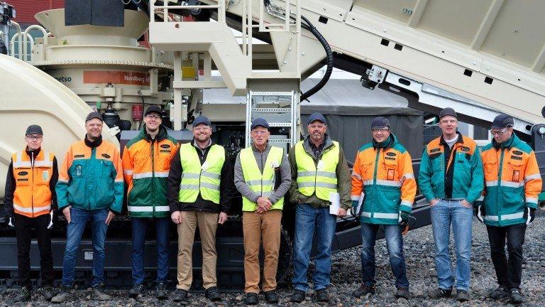 Установки Metso Outotec в Антарктике работают в строительстве