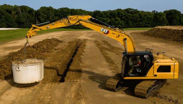 Компанія Caterpillar представила три нові моделі екскаваторів серії Next Gen