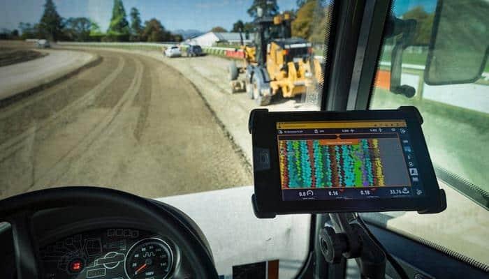 Trimble розширює можливості управління Earthworks 3D на ущільнювачі ґрунту