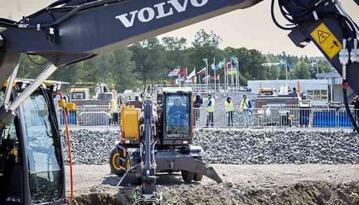 Volvo CE відмовилися від участі у виставці Bauma 2022