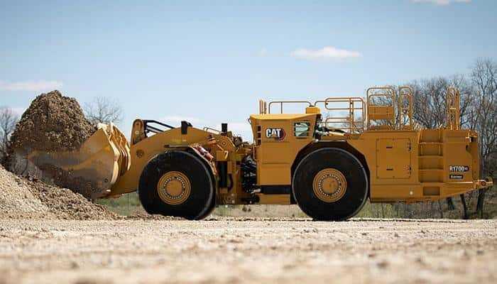 Caterpillar починає електрифікацію лінійки підземних транспортних засобів з R1700XE LHD