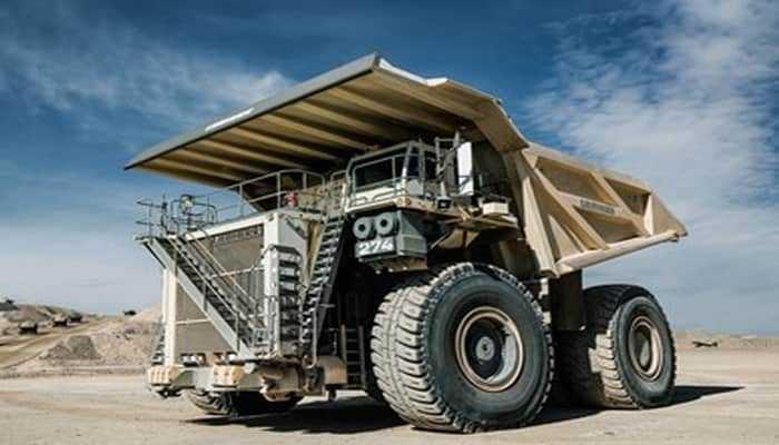Liebherr T 274 — новий 305 тонний кар'єрний самоскид