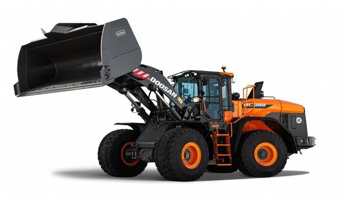 Новий Doosan DL380-7 на виставці World of Concrete 2021
