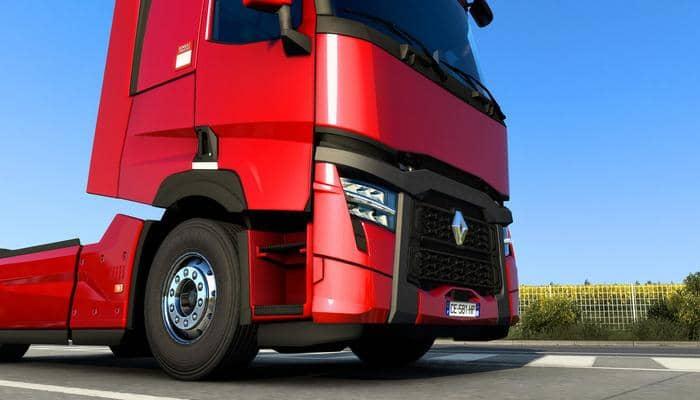 Renault Trucks представила новые модели T и T High 2021 в игре Euro Truck Simulator 2