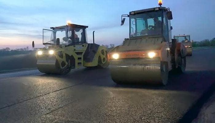 В Днепропетровской области идет строительство самой длинной автодороги Украины, -