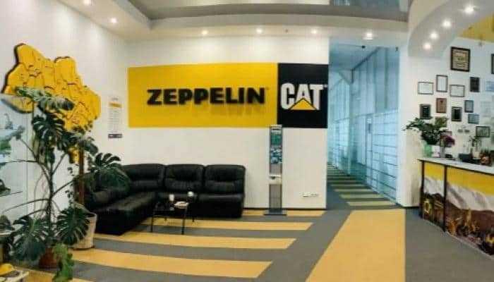 Zeppelin в Украине построит штаб-квартиру