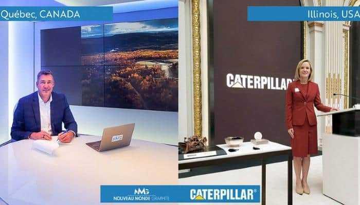 Cat співпрацює з Nouveau Monde для розробки парку повністю електричних гірничодобувних підприємств