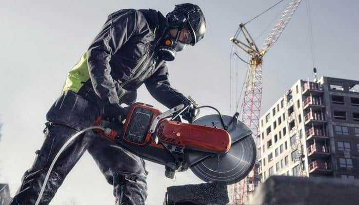 Husqvarna Construction випускає акумуляторний різак по бетону