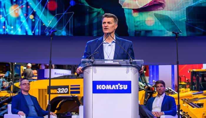 Komatsu анонсувала оновлений пакет програмних рішень Smart Construction
