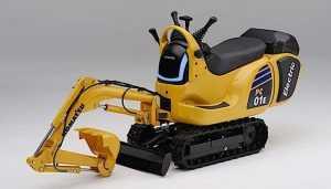 Мікроекскаватор Cutesy Komatsu буде працювати на змінних акумуляторах Honda