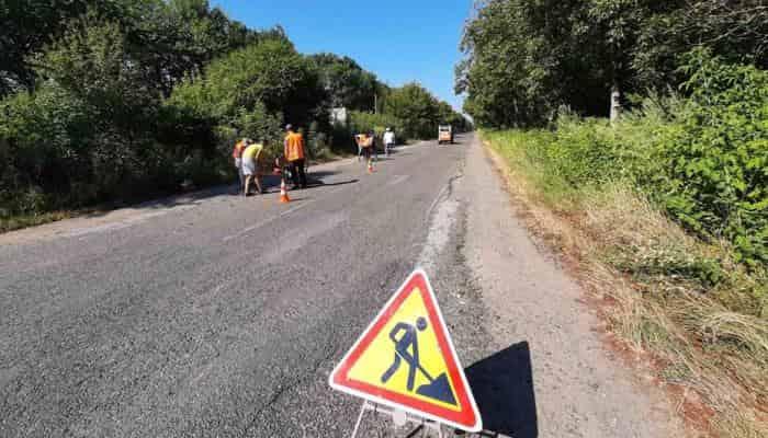 В Черкасской области до конца года отремонтируют 75 км трассы Н-01
