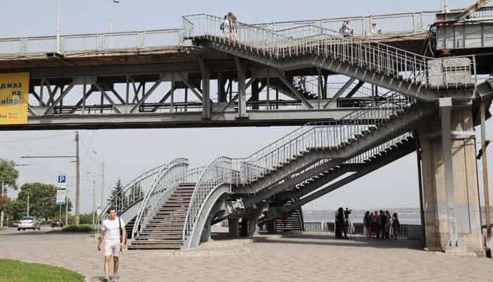 В Днепре построят пешеходный мост