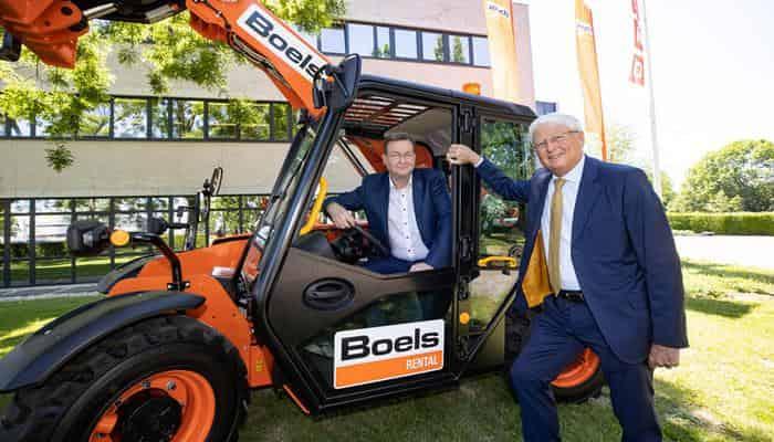 Boels інвестує в електричний телескопічний навантажувач JCB