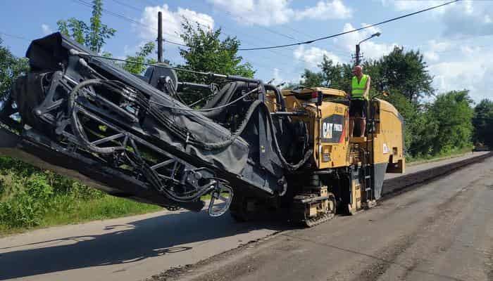 Вблизи Калуша стартовали ремонтные работы на дороге Т-14-19