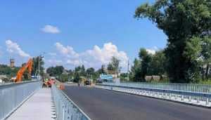 В Овручі відремонтували міст через річку Норинь