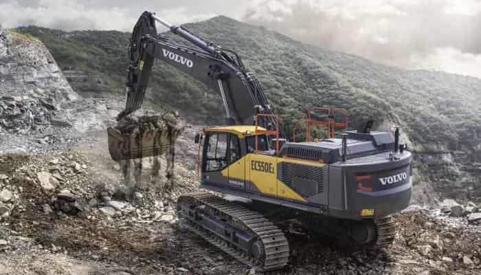 Volvo CE запускает новые 50-тонные экскаваторы