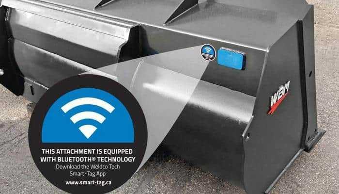 Weldco-Beales представляє технологію Bluetooth Smart-Tag для відстеження навісного обладнання