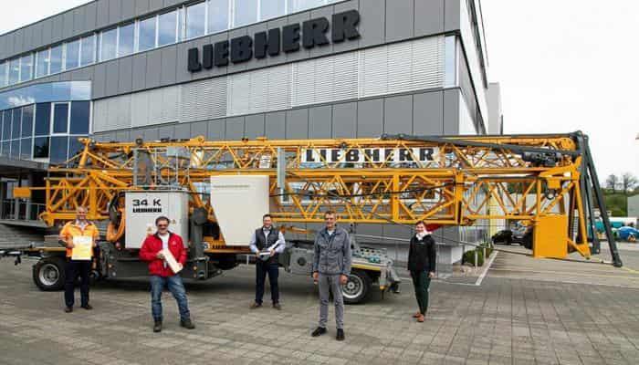 Компанія Liebherr випустила 2000-й швидкомонтований кран