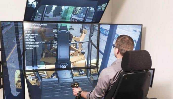 Обучение механиков-водителей спецтехники при помощи тренажеров от CM Labs