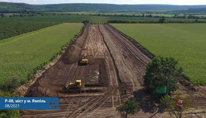 Стартували підготовчі роботи з будівництва моста в Молдову