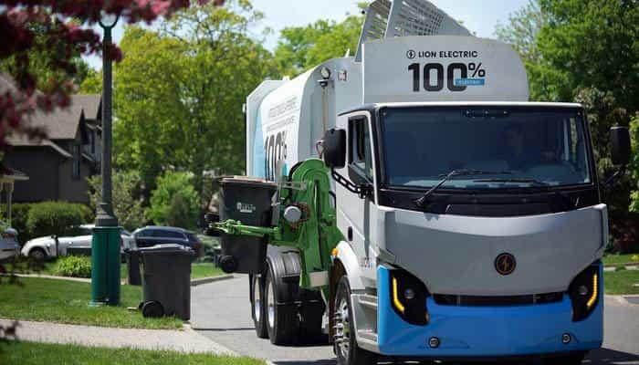 Lion Electric открыл центр для демонстрации полностью электрических тяжелых грузовиков