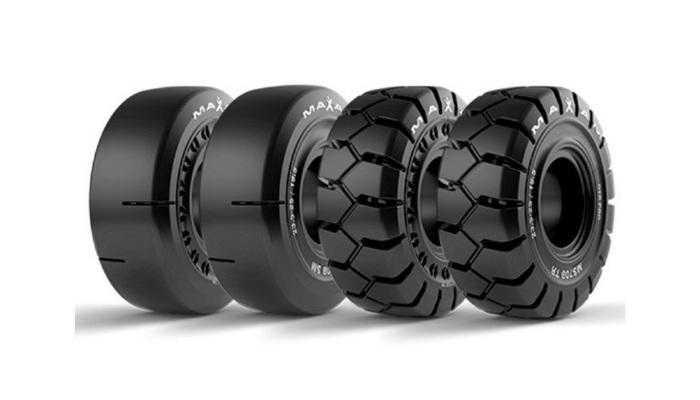 Нова цільнолита шина MAXAM не вимагає технічного обслуговування