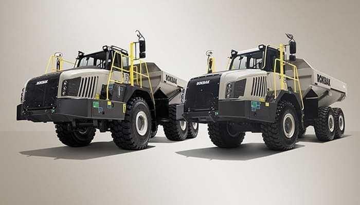 Terex Trucks перейменовується в Rokbak