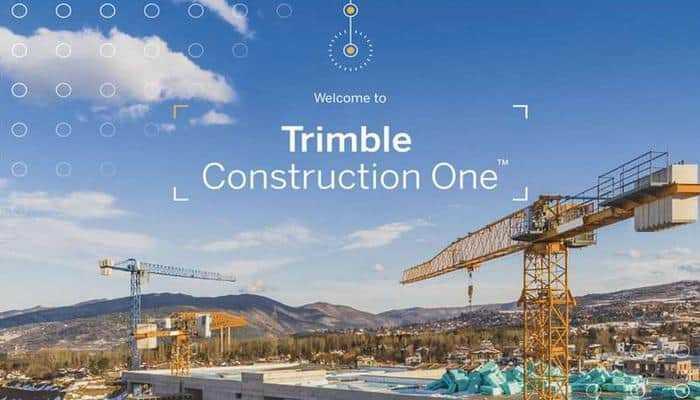 Запуск Trimble Construction One