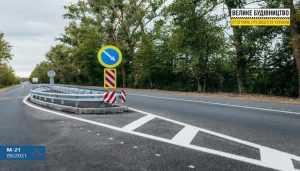 Завершилися ремонтні роботи на двох ділянках автошляху М-21 у Вінницькій області.