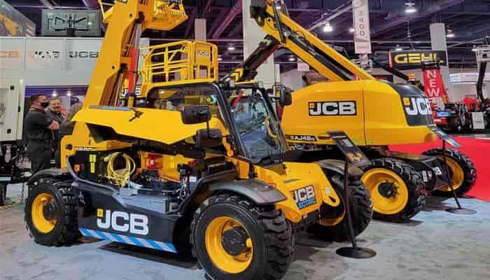 JCB представляє новий підіймач на виставці Rental Show