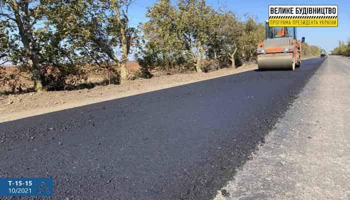 На Миколаївщині ремонтують дорогу до бази відпочинку «Лугове»