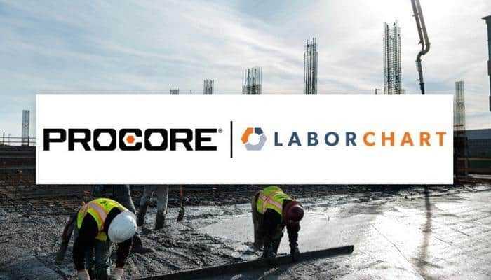 Procore приобретает LaborChart для противостояния с нехваткой рабочей силы
