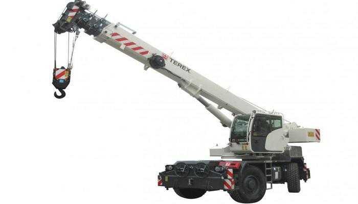 Terex Cranes представила 35 т кран для пересіченої місцевості TRT 35