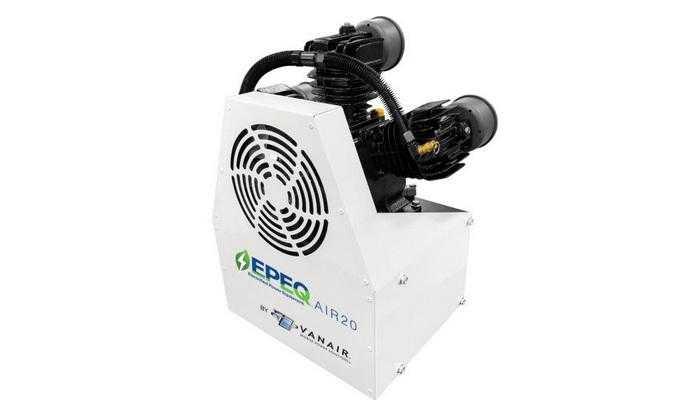 Vanair випустить лінійку легкого і тихого електрифікованого силового обладнання