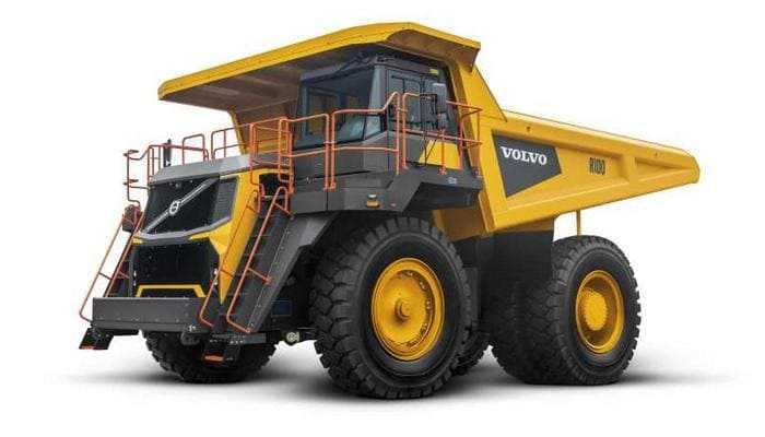 Volvo CE выводит на рынок рамный самосвал R100